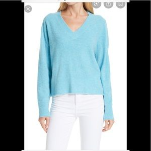 Nordstrom Signature Cashmere Blend Boucle Sweater